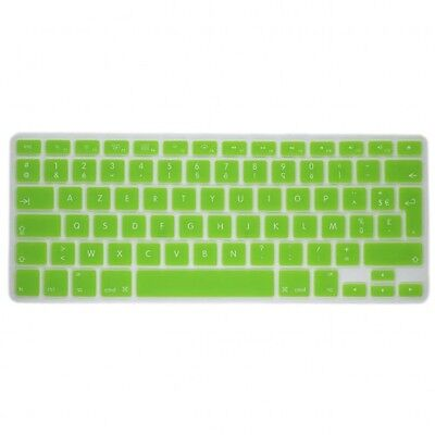 "Protection Clavier Silicone AZERTY pour MacBook Pro Retina Air 13"" 15"" 17"" -Vert"