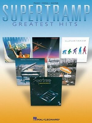 Supertramp Greatest Hits Sheet Music Piano Vocal Guitar Songbook NEW 000306462