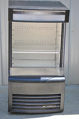 2012 True Tac-14Gs Refrigerated Glass Sided Air Curtain Merchandiser