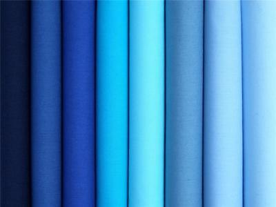 BLUE pale royal turquoise navy plain dye 100% COTTON FABRIC dress craft bunting