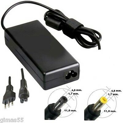 Alimentatore carica-batteria x NOTEBOOK HP Compaq 19V 90w SPINOTTO 4.8x1.7mm.
