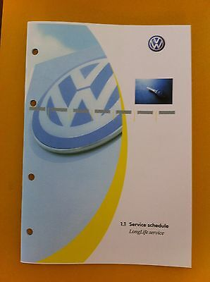 Vw Volkswagen Service Book All Models Petrol And Diesel Passat,golf New#