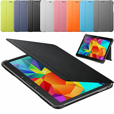 Folding Stand Smart Cover Slim Flip Folio Case for Samsung Galaxy Tab 4 7 8 10