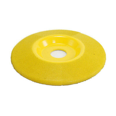 SANDING DISC'S (Flat Face)) SD550 7/8 Bore Yellow Fine 5 inch Diameter