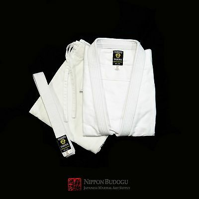 New Bleached Single Weave Judo Gi Aikido Gi Uniform