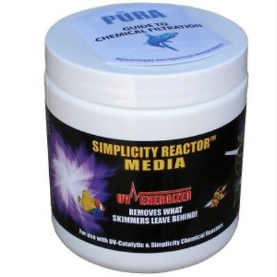 Simplicity Reactor Media removes phosphates, silicates, organics, and byproducts