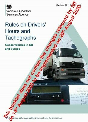 DVSA (VOSA) Driver's Hours & Tachograph Rules - Truck