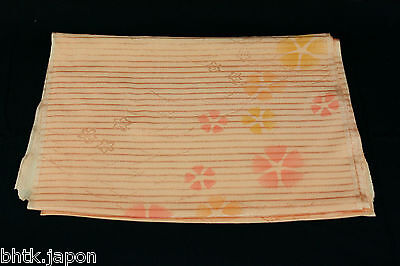 帯揚げ OBIAGE - Sous ceinture de obi - SAKURA - 221693 - Made in Japan