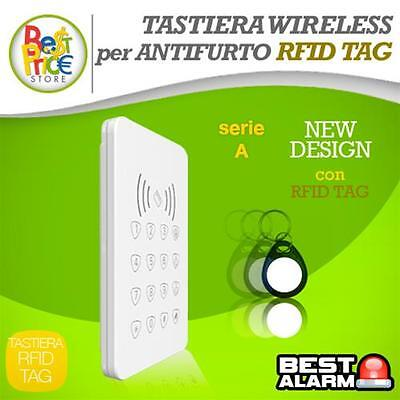 TASTIERA WIRELESS RFID TAG comp. SERIE  A