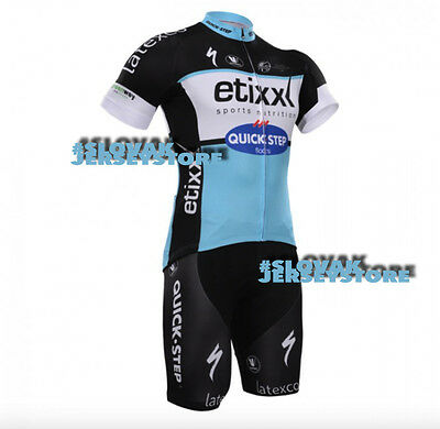 2015 Quickstep Etixx Jersey Bib Hobby Set Kit Cycling Tour De France Pro Kittel