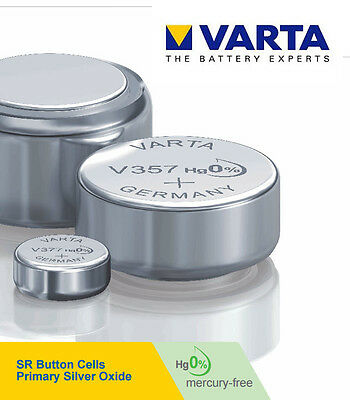 VARTA Silver Oxide 1.55V/6.2V Watches Battery ALL SIZE Highest Leakage Resistant
