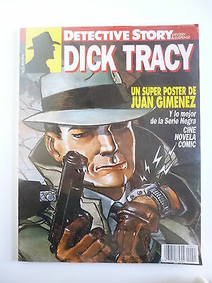 Detective Story # 3. Dick Tracy. Chester Gould (New Comic, 1989)
