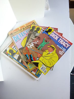 Detective Story # 1 A 5 Completa. Dick Tracy, Ch.gould (New Comic, 1989)