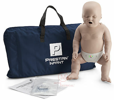 Prestan INFANT Manikin w Monitor Med Tone PP-IM-100M-MS CPR training mannequin
