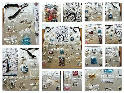 Huge Deluxe Jewellery Making Kit with Beads Tools,Findings, Booklet & much more