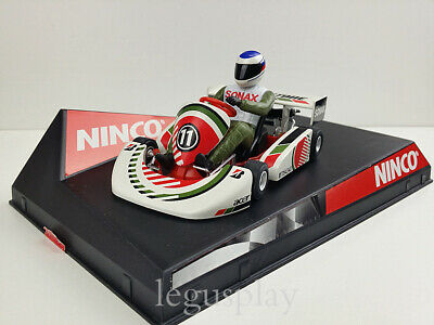SCX Scalextric Slot Ninco 50286 Super Kart F1 Bridgestone