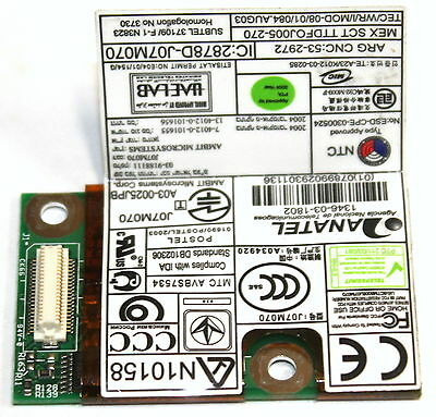 Ibm Thinkpad Laptop Notebook 56K Modem Card Fru P/n: 39T0061!!