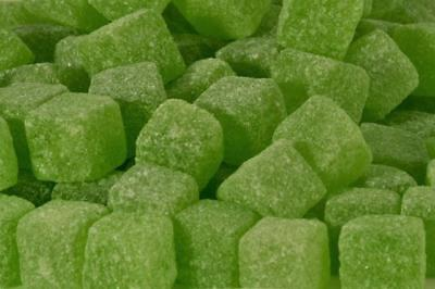 * Sour Apple Cubes Wholesale Pick n Mix Wedding Party RETRO SWEETS & CANDY