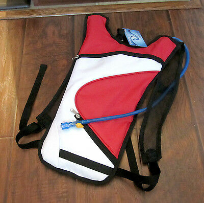 Hyannisport – Hydration Backpack – HLHB19 – Red/White/Black - NWT
