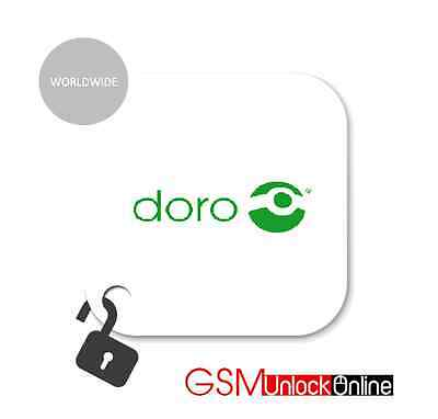 Unlock Code Service For Doro Phone Easy 345 345S 409 409S 410 410S 610 610S