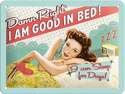 Damn Right Tin Sign Vintage Metal Plaque Poster Bar Pub Home Wall Decor