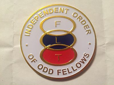 Auto Emblem - Independant Order of Odd Fellows