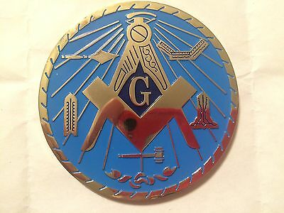 Auto Emblem - Masonic Blue Lodge - Working Tools