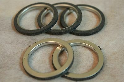 Lot 5 Exhaust Pipe Gasket 40mm Honda CG125 150cc QJ125cc Scooter ATV Motorcycles