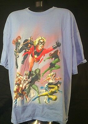 Official Marvel 'Women of Marvel' T-Shirt - XXL
