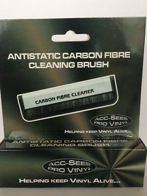 High quality Vinyl Carbon Fibre Record Cleaning Brush - Free uk shipping