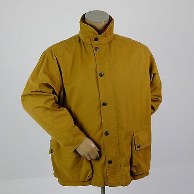NAUTICA Expedition Field Barn Coat Winter Jacket Zip Out Lining Mens LARGE Hood