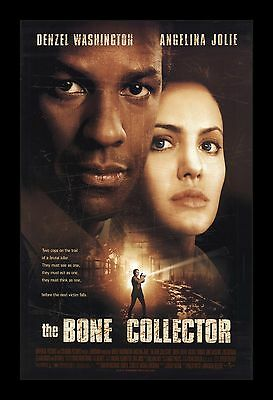 THE BONE COLLECTOR  framed movie poster 11x17 Quality Wood Frame