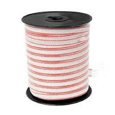 ELECTRIC FENCE TAPE 12mm - 200m ROLL