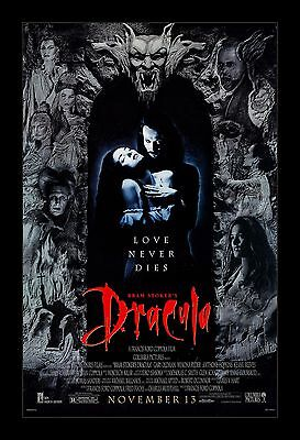 DRACULA  framed movie poster 11x17 Quality Wood Frame