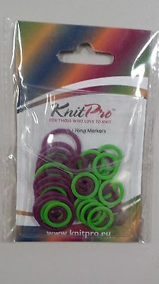 Knit Pro Stitch Markers - Rings N010801 Pack