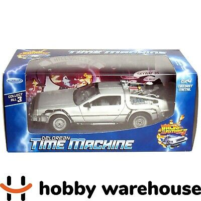 Welly Back to the Future II Delorean Time Machine 1:24 Diecast Metal