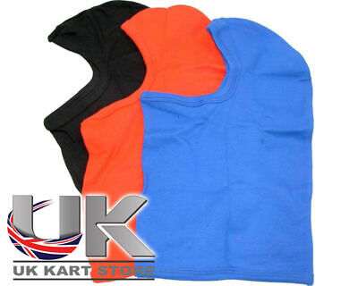 Racing Balaclava Arai Bell Sparco Helmets All Colours One Size Go Kart