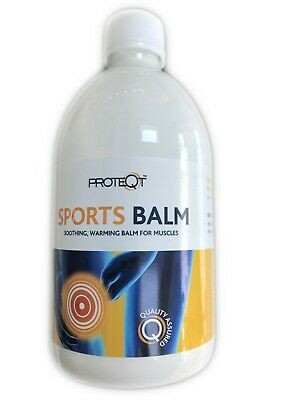 CMS Sports Balm 500ml Packs of 1, 2 and 3 Pre Exercise prevents injury