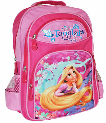 New Large Backpack Rapunzel Tangled Kids Girls School Bag Picnic Preschool