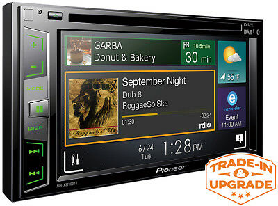 Pioneer Touch Screen Car Stereo CD DVD Player Radio iPod iPhone Bluetooth USB