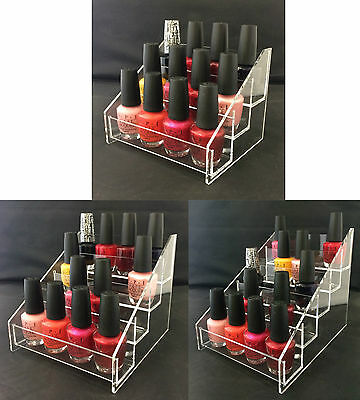 Nail Polish Display Stand Organiser Nail Varnish Stand Cosmetic Organiser (Mini)