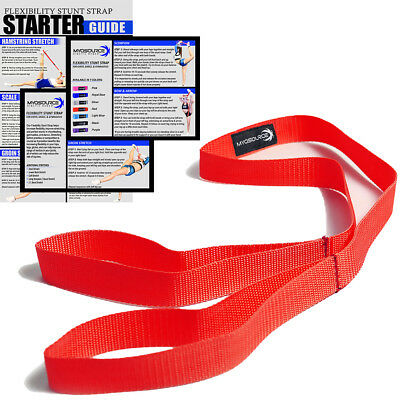 Cheerleading Flexibility Stunt Stap Band Stretching Red
