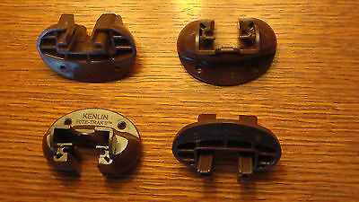 Set of 4 x Kenlin Rite-Trak II Drawer Guides Replacement Parts New Brown