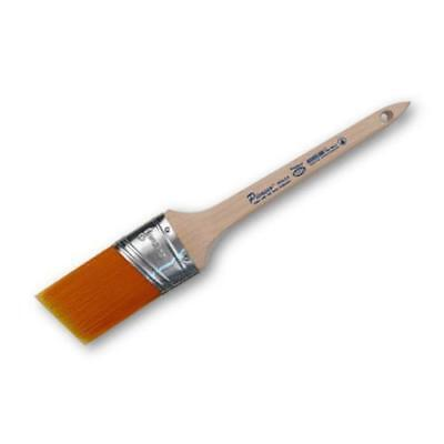 """Picasso Chisel Synthetic Orange Bristle 1.5"""" Angled Oval Paint Brush PIC11-1.5"""