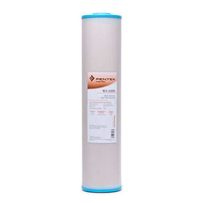 Pentek WS-20BB Whole House Big Blue 20 Inch Water Softening Filter