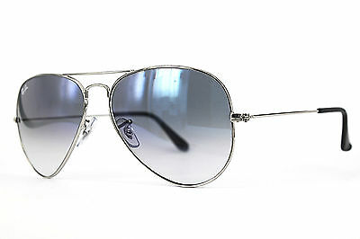 Ray Ban Sonnenbrille / Sunglasses RB3025 AVIATOR LARGE METAL 003/3F 58[]14 # *