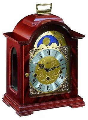 (New!) Hermle DEBDEN Bracket Mantel Clock Moving Moon Phase clocks 22864-070340