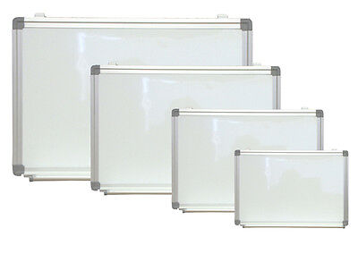 """Magnetic Dry Erase Board 18""""X 24"""" Aluminum Framed White Wall Pen Tray"""