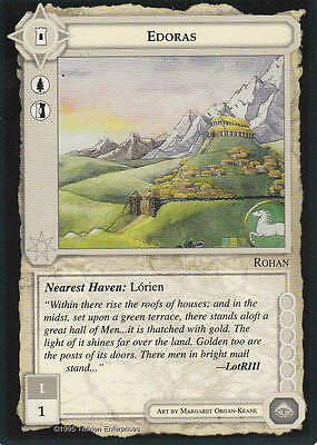 Edoras - Middle Earth The Wizards CCG b.b. Lim.Edition Mint/N.Mint 1995 ME73