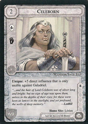 Celeborn - Middle Earth The Wizards CCG b.b. Lim.Ed. Mint/N.Mint 1995 ME79